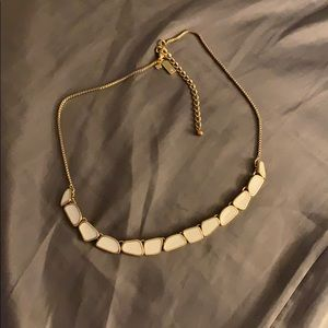 White Kate Spade Necklace